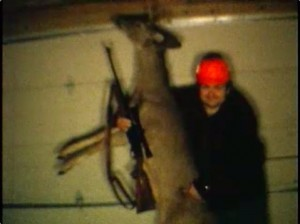My Dad with his deer. This movie footage was taken in the mid 1970's.