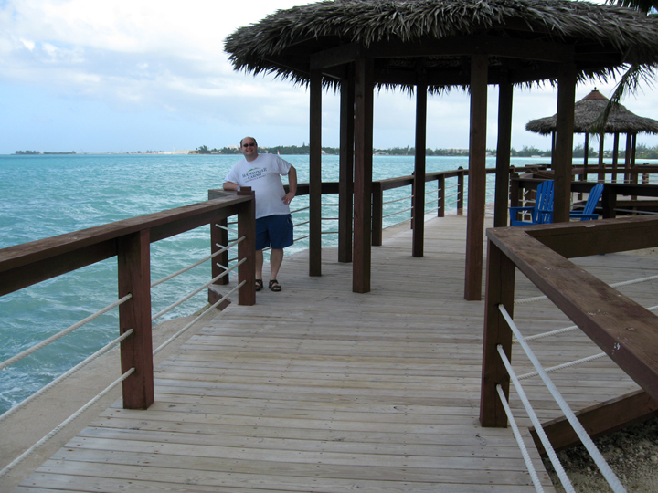 The Pier at the Wyndham Resort in Nassau, Bahamas.