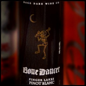 Bone Dancer Dessert Wine — Bagg Dare Winery, Finger Lakes, NY