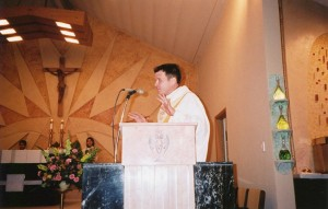 Father Bob's sermon at our wedding in 2001.