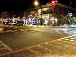 Light Up Night in downtown Ellicottville.