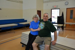 Jim and Val are amazing volunteers that give so much time to St. Gregory's.