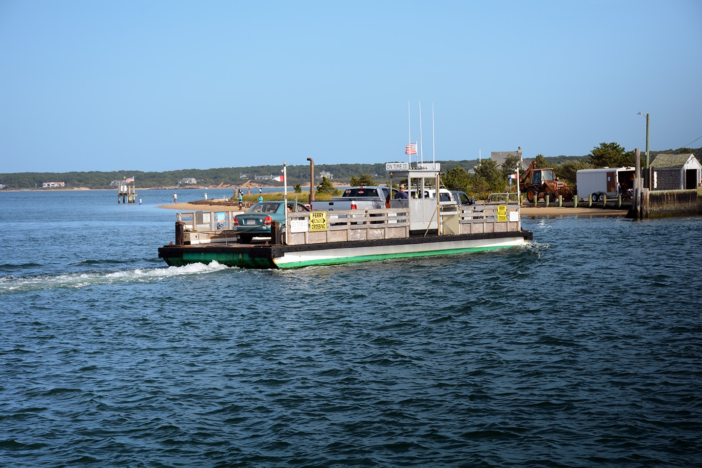 The Ferry Ride to Chappaquiddick Island