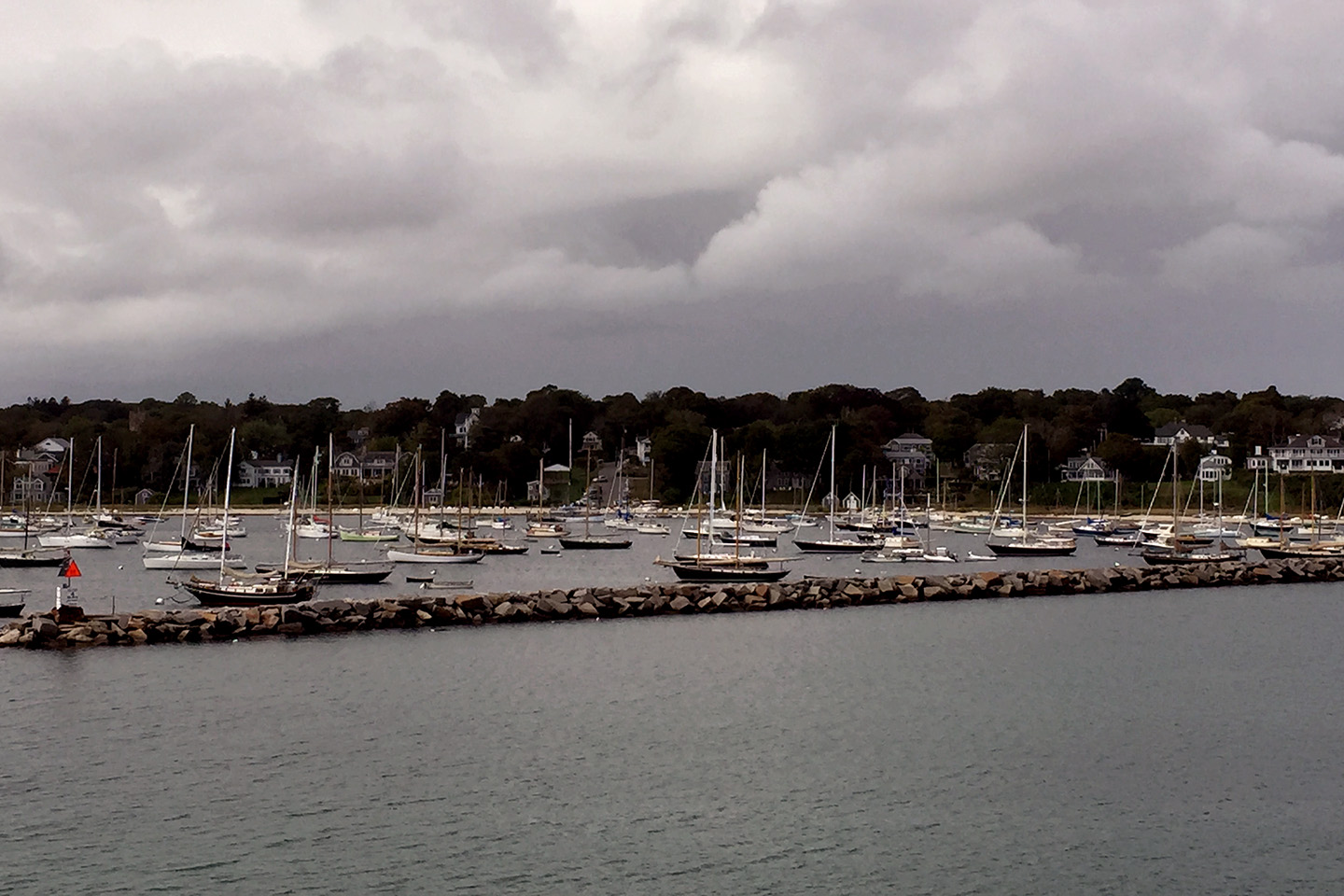 Harbor at Vineyard Haven, Martha's Vineyard, MA