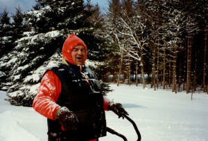 My Dad snow blowing the driveway after a big snowfall. Gosh how I miss him!!!