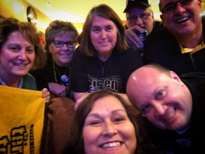 Steelers Party Selfie (at Peters' Pub)